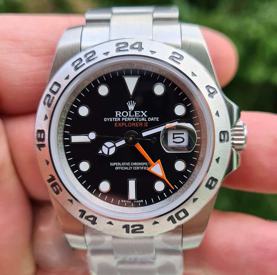 Rolex Explorer II Fake