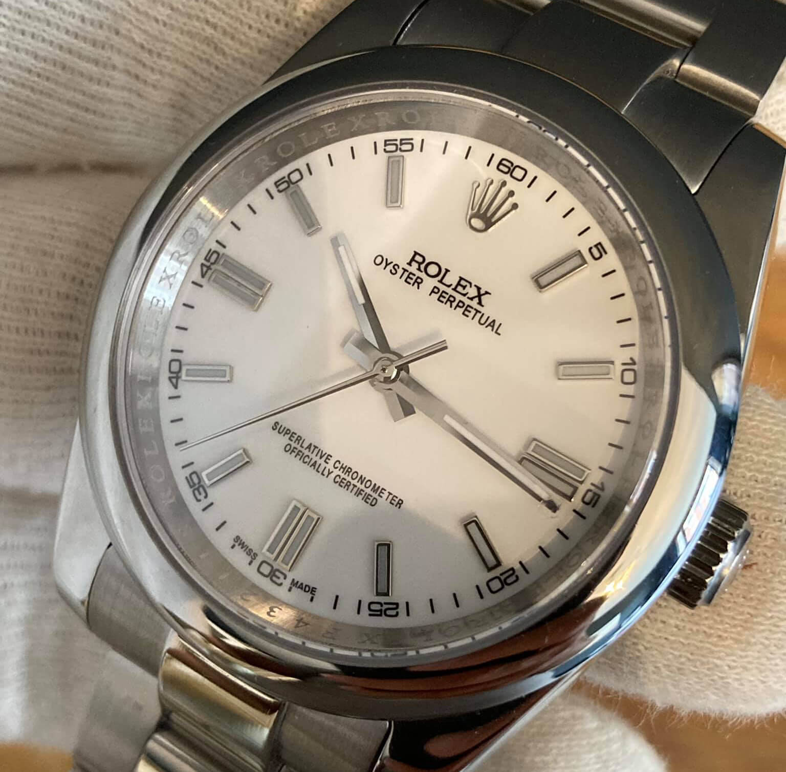 Rolex Oyster Perpetual Fake